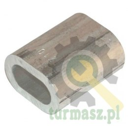 Zacisk do liny aluminium, 10 mm